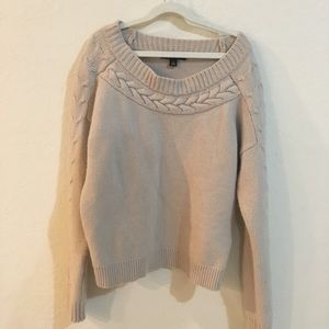 Ann Taylor Sweater with Cashmere- Size S